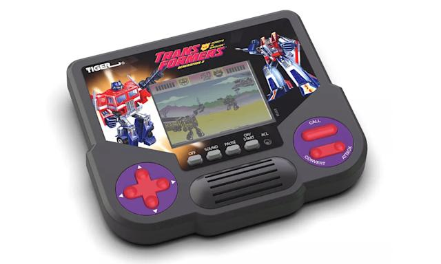 Hasbro is relaunching classic Tiger Electronics gaming handhelds (updated)