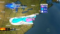 Snow slams millions from Midwest to Mid-Atlantic