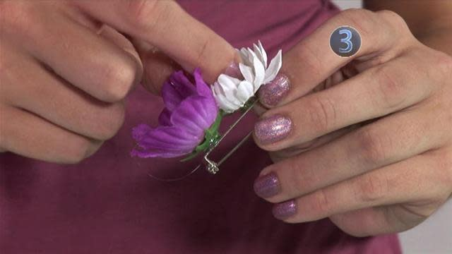 How To Create A Fake Flower Accessory
