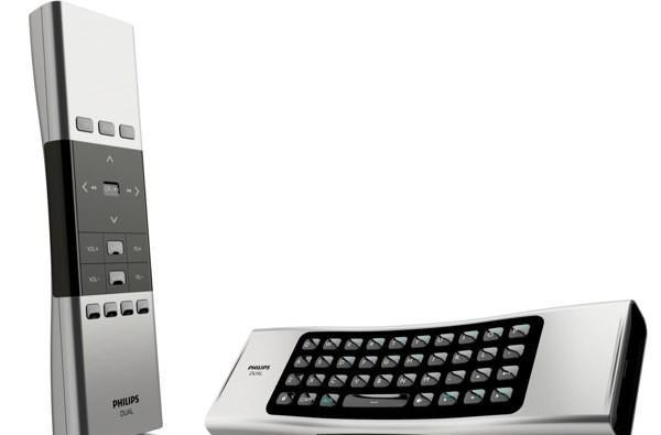 Philips Home Control's Dual is a QWERTY remote for attractive people