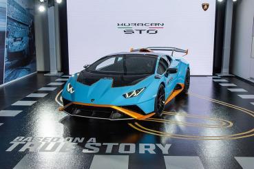 從賽道犇向公路!全新Lamborghini Huracán STO抵台亮相