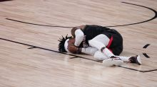 Robert Covington passes concussion test, OK after scary collision with Anthony Davis in Game 3
