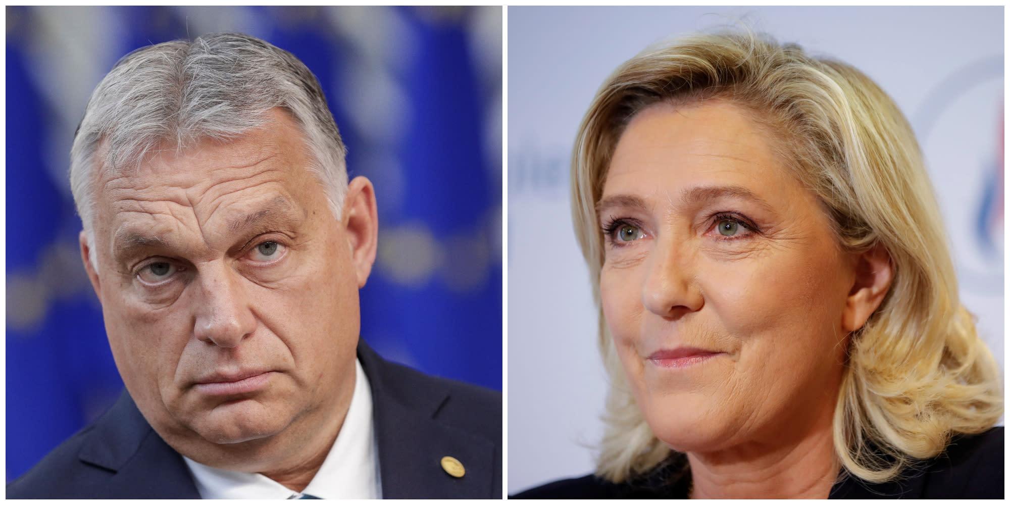Ce que l'on sait de la rencontre Marine Le Pen / Viktor Orban, cruciale pour la candidate
