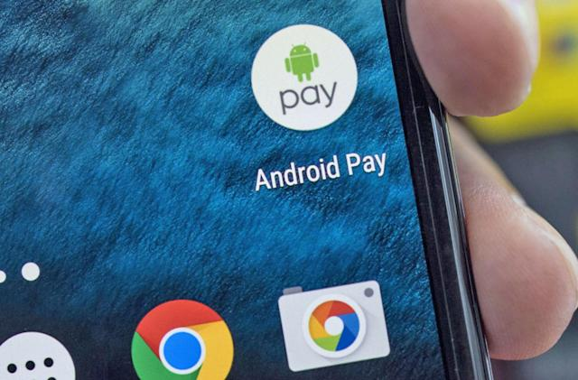 Google launches Android Pay in the UK