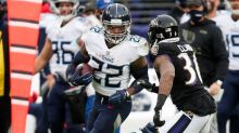 Derrick Henry, Dalvin Cook neck and neck for NFL rushing lead