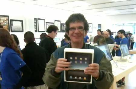 iPad launch: Buying at the Walt Whitman Mall in Huntington Station, NY