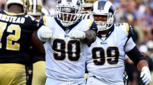 Rams lineman Michael Brockers says Matthew Stafford is 'a level up' from Jared Goff