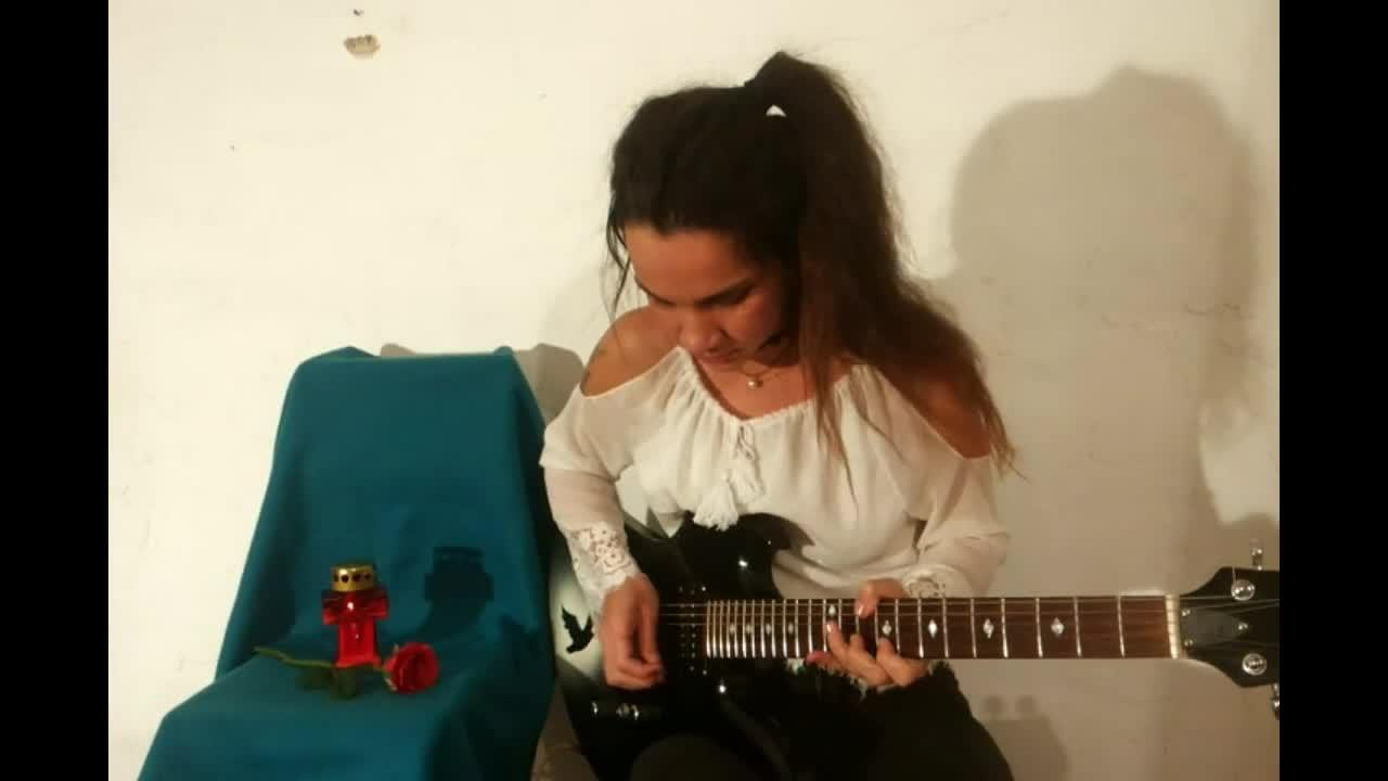 Guitarist Eva Vergilova S Epic Godfather Theme Song