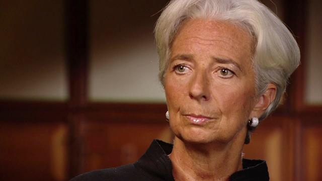 Christine Lagarde on signs of an improving U.S. economy