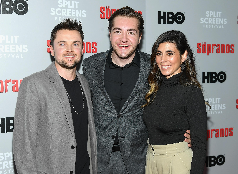 James Gandolfini's son helps 'Sopranos' cast mark 20th