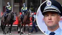 NSW Police's $1,000 warning to anti-lockdown protestors