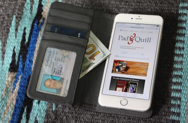 Pad & Quill's Bella Fino wallet case for iPhone 6 Plus