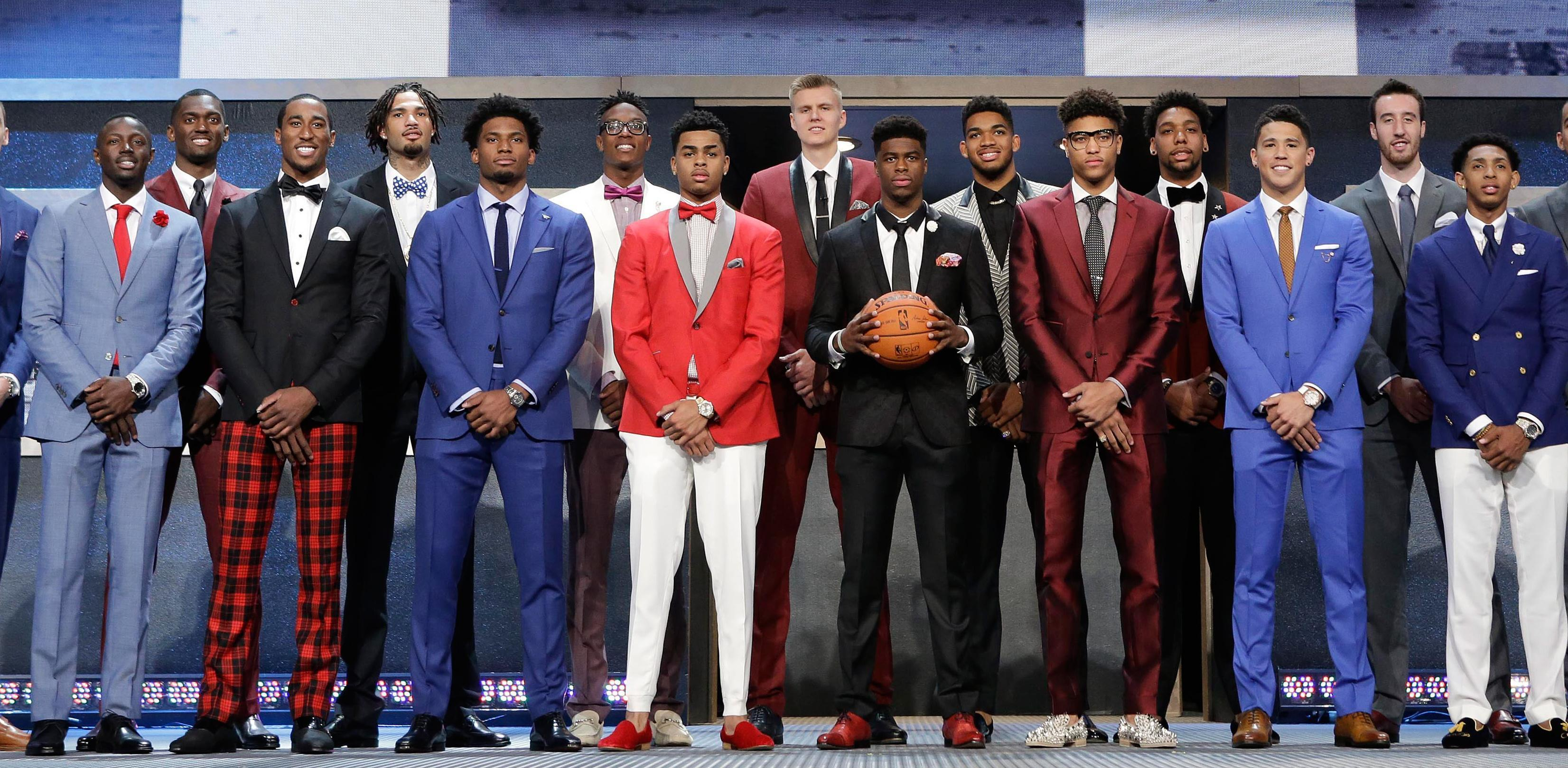 New York Times Fashion Critic Says Nba Draft Players Look Like Refugees From A Broadway Show