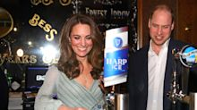 Kate Middleton pulls pints in Belfast while wearing a $2,480 Missoni dress