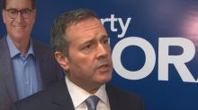 Alberta premier seeking to spur blue wave in competitive big-name Manitoba riding