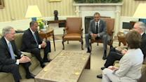 Obama discusses Iraq with Congressional leaders