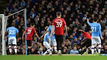 Manchester United beat rivals City as reigning champions fall 14 points behind Premier League leaders Liverpool