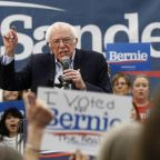 Bernie Sanders has early lead at Nevada caucus