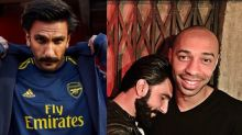 Ranveer Singh's Reveals Why He Loves Arsenal During Instagram Live with Sunil Chhetri