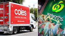 Coles and Woolworths shelves left empty as floods cut supplies