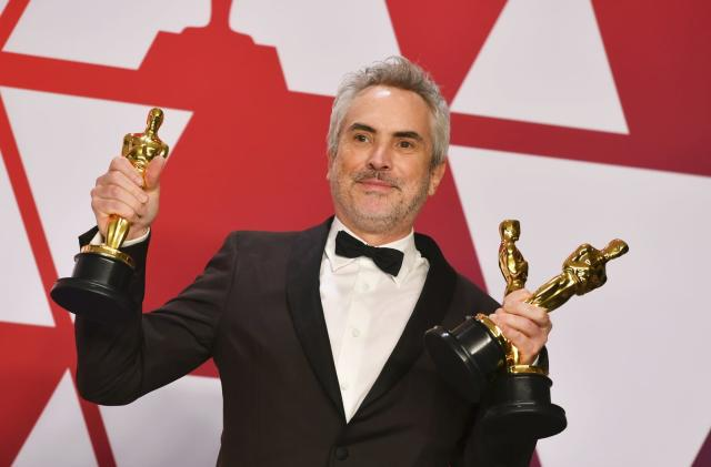 Netflix's three 'Roma' Oscar wins show streaming can rival Hollywood