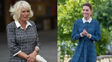 Camilla appears to take style cues from Duchess of Cambridge for Swindon visit