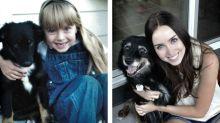 15 adorables fotos de mascotas con sus dueñosantes y después