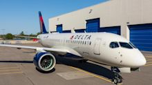 Delta Air Lines rolls out its first new Airbus A220 from Quebec factory