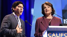Kevin de León takes on Dianne Feinstein from the left