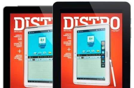 Distro Issue 53: Will the S Pen-wielding Samsung Galaxy Note 10.1 rise above its tablet foes?