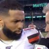Odell Beckham Jr. has priceless reaction to reporter's question in Spanish