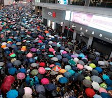 Hundreds of thousands march for democracy in latest Hong Kong protest against China
