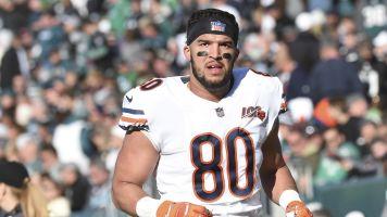 Groin and calf injuries end Bears TE's season