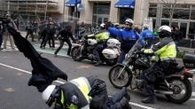 Three arrested at Trump inauguration sue DC over 'police abuse'
