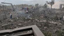 Gewaltige Explosion im Süden desLibanons