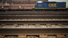 The CEO of railroad giant CSX says he's baffled by the U.S. economy