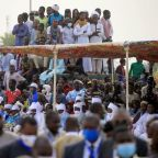 Thousands attend funeral of Chad's Deby, Macron pledges French support