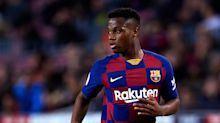 Barcelona boss Setien not blaming 'humble' Fati for red card