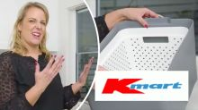 Kmart masterclass: $7 laundry soaking hack keeps hands dry