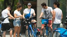 Priyanka Chopra and Sophie Turner Went on a Bike Ride With the Jonas Brothers on the Fourth of July