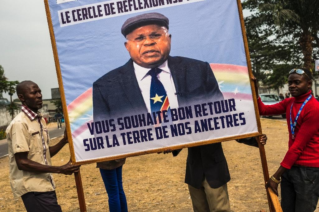 For decades, Etienne Tshisekedi was the face of DR Congo's opposition (AFP Photo/Eduardo Soteras)