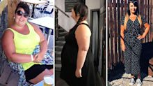 Slimmer wears bikini for first time ever – after losing nine stone