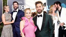 Emily Blunt and John Krasinski's relationship timeline, as actress moves husband to tears at SAG Awards