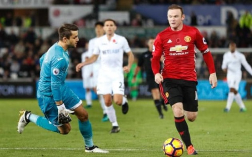 Man Utd beat Swansea 3-0 earlier this season - pa