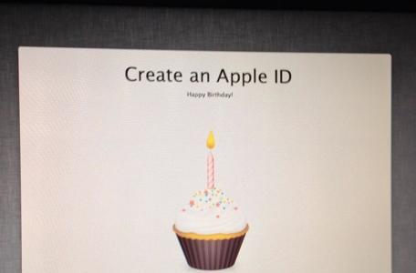 Set up a new Mac on your birthday for a cupcake