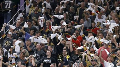 Fans get physical after Knights oust Avs