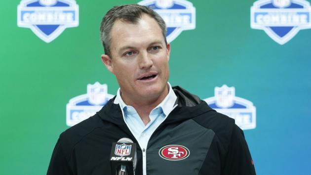 49ers GM John Lynch: Anthem protests 'divisive,' but respects players' rights