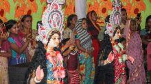 Myanmar's Hindu refugees mark festival in Bangladesh camp