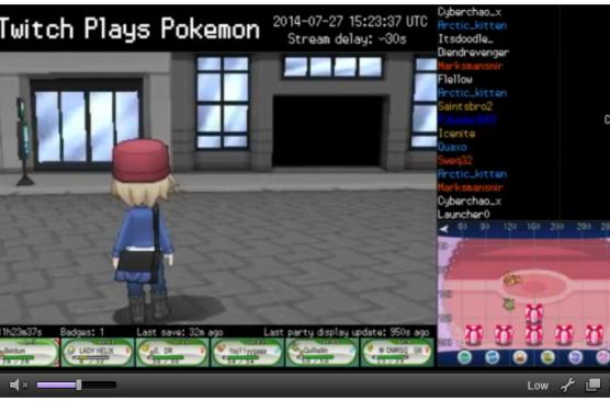 The nightmare returns as Twitch Plays Pokemon X / Y