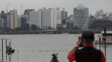 Torrential rains in Seoul prompt rare river flood warning